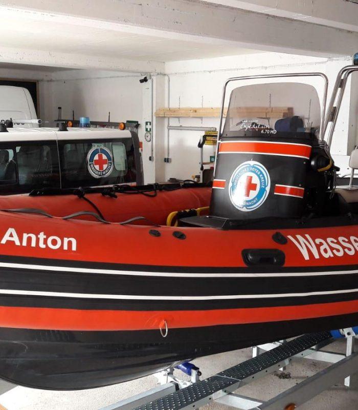 Schlauchboot Graf Anton